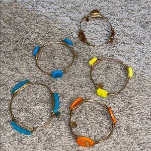 5 - Bourbon & Bowtie bracelets - Bundle